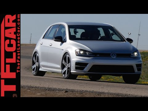 2015 VW Golf R Hot Lap & 0-60 MPH Review: How Fast Is VW's Hottest Hot Hatch?