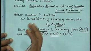 Lec-18 Chemical Treatment