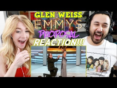 Glen Weiss - EMMYS PROPOSAL REACTION!!! (видео)