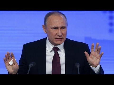 Β. Πούτιν: «Ισχυρότερη από τους εχθρούς η χώρα μας»