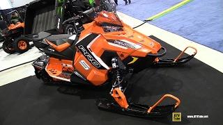 10. 2016 Polaris Rush Pro S 800 Sled - Walkaround - 2015 St Hyacinthe ATV Show