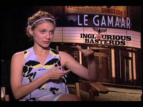 Melanie Laurent - HitFix's Drew McWeeny chats with Melanie Laurent, one of the stars of 'Inglorious Bastards'.