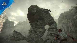 Shadow of the Colossus  PS4 Trailer  E3 2017