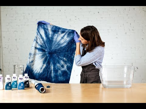 How to Shibori Dye (Kanoko Style) with Rit Dye