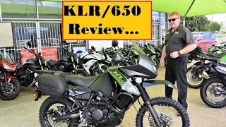 9. 2017 kLR 650 MODIFIED vs STANDARD Differences and Quick REVIEW