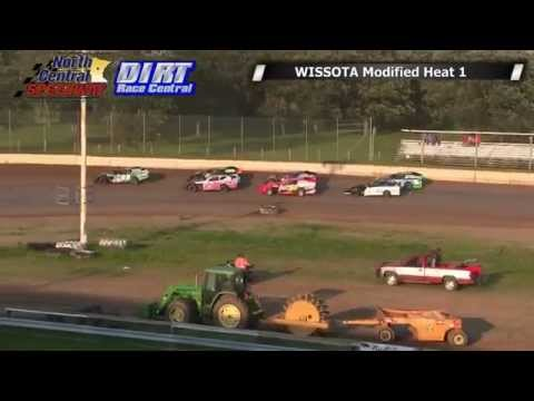 North Central Speedway 7/12/14 WISSOTA Modified Races Audio Issues