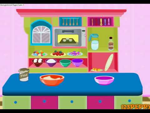 Cooking Games Recipe #7(Crazy Cupcakes)