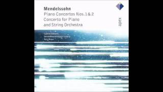 Felix Mendelssohn: Concerto for Piano & Strings in A minor (1822): III. Allegro (3/3) - YouTube