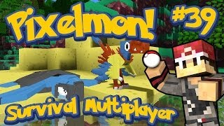Pixelmon Survival Multiplayer Episode 39 - Intense Fossil Searching Session! w/MrWoofless&Preston