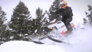 9. 2012 Polaris 800 Pro-RMK Snowmobile Review