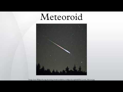 Meteoroid