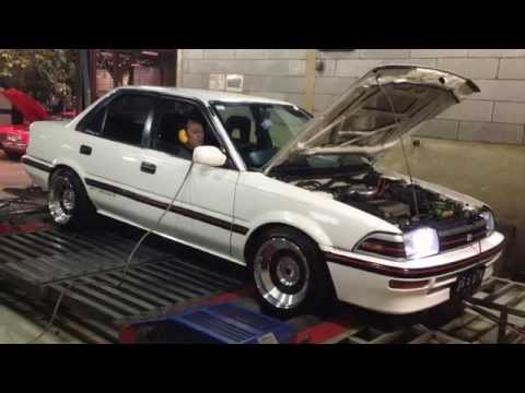 Dyno tuning Haltech PS500 - Toyota Corolla AE92 4A-GZE 1.6L