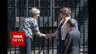 DUP agree deal to back Conservative government