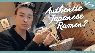 The Most Authentic Japanese Ramen in Korea?