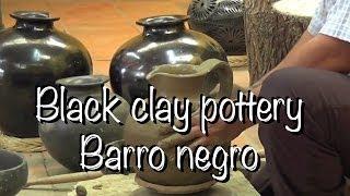 Mexican Black Clay Pottery In Oaxaca ¿Cómo Hacer Un Cántaro De Barro Negro? [HD]