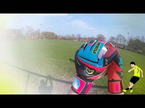 Keeper Gloves Test: Tec Evo Contact Test, Review und Unboxing | Torwarthandschuh Test by SHD