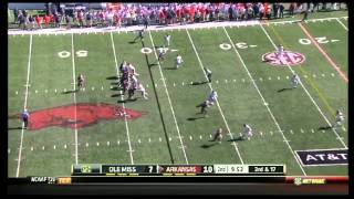 Tyler Wilson vs Ole Miss (2012)