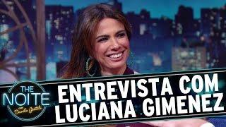 The Noite (07/03/16) - Entrevista com Luciana Gimenez