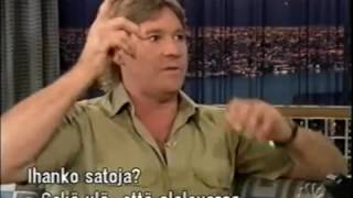 Video Steve Irwin on Conan, funny. MP3, 3GP, MP4, WEBM, AVI, FLV Juli 2019
