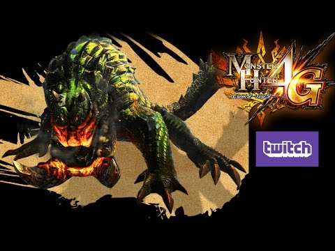 Monster Hunter 4 Ultimate (4G) Tetsucabra Subspecies (from Twitch) テツカブラ亜種