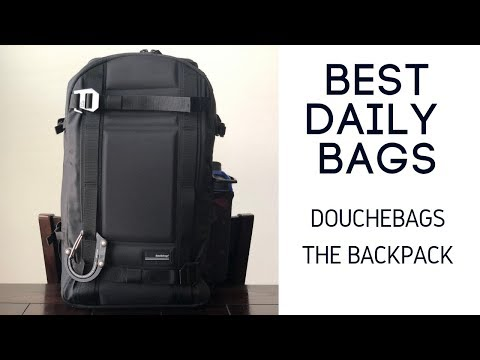 "Douchebags ""The Backpack"" Review - 21L Slim and Minimal EDC Bag"