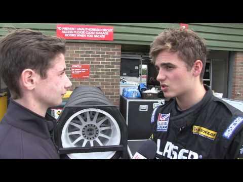 Aiden Moffatt- Laser Tools racing - BTCC Snetterton 2016