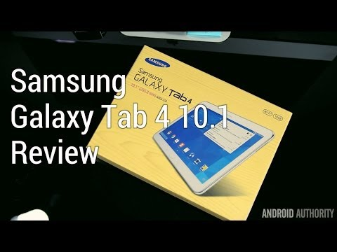 Galaxy Tab 4 10.1 Review