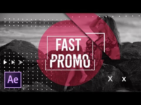 4 Fast Intro/Promo Techniques | After Effects Motion Graphics Tutorial