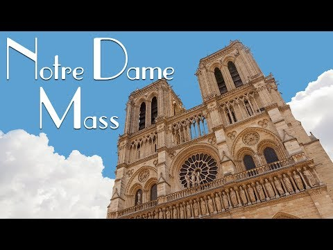 MASS AT NOTRE DAME CATHEDRAL (PARIS, FRANCE) | Eileen Aldis