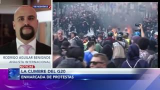 Entrevista a Rodrigo Aguilar Benignos sobre la cumbre G20