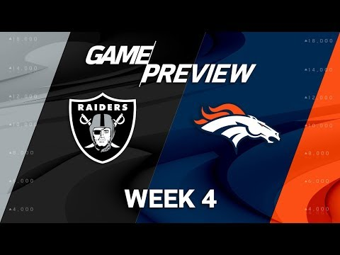 Video: Oakland Raiders vs. Denver Broncos | Week 4 Game Preview | Move the Sticks