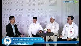 """Dialog: Peringatan Hari Damai Aceh ke-13 """"Dame Aceh Berlandaskan Syariat Islam"""" Bagian-1"""