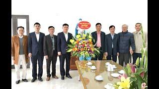 Chủ tịch UBND thành phố Nguyễn Mạnh Hà chúc mừng giáo dân giáo họ Thất Tinh, giáo xứ Trạp Khê