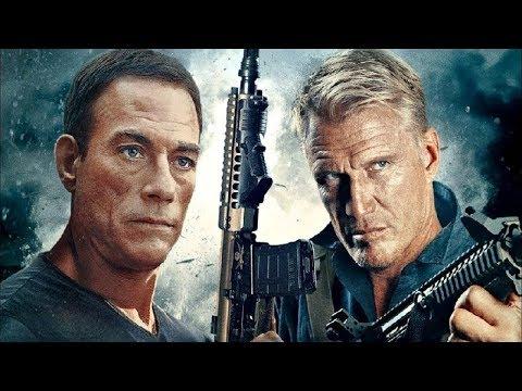 "Dolph Lundgren  e Jean-Claude Van Damme em  ""NA ESCURIDÃO DO OCEANO (2018)"""