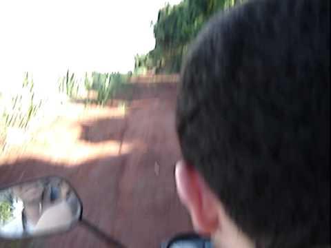 CG 125 moendo em Motuca!
