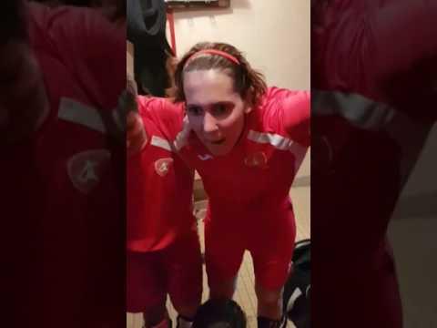 Victoire de l'équipe féminine de Villeneuve-Saint-Germain contre Aulnois-sous-Laon