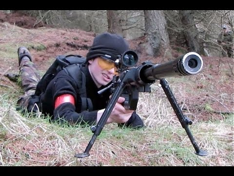 War - Airsoft guns in action. 1 of over 400 airsoft war videos at http://www.youtube.com/scoutthedoggie Filmed by the No1 YouTube video maker in Scotland, over 120...