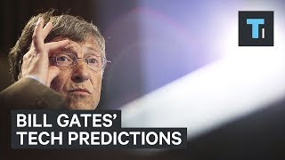 "The Microsoft co-founder imagined much of the tech we use today before it even existed. He shared his thoughts in a 1999 book called ""Business @ the Speed of Thought."" Here's a quick look at 6 of his predictions that eventually came true, including a device you are probably holding in your hands right now. Read more: http://www.businessinsider.com/saiFACEBOOK: https://www.facebook.com/techinsiderTWITTER: https://twitter.com/techinsiderINSTAGRAM: https://www.instagram.com/businessinsider/TUMBLR: http://businessinsider.tumblr.com/"