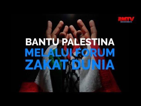 Bantu Palestina Lewat Forum Zakat Dunia