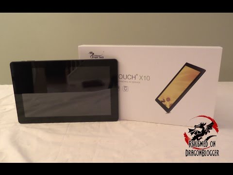 Unboxing TabletExpress' 10.6in Octacore DragonTouch X10 tablet