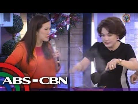 Kris TV: Helen Gamboa cooks Tilapia sa Gata