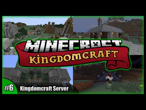 Epic Staircase & Station! || Minecraft Kingdomcraft Server || Minecraft Survival SMP (Vanilla) [#6]