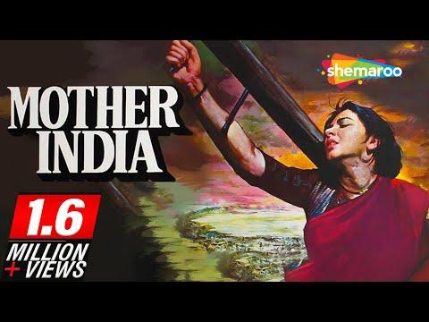 Mother India (1957)   Nargis   Sunil Dutt   Rajendra Kumar   Raaj Kumar   Classic Color Movie