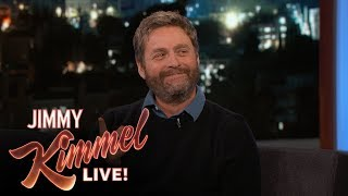 Jimmy Kimmel & Zach Galifianakis on Dinner with Don Rickles