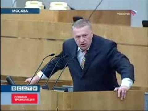 Жириновский рассмешил Путина