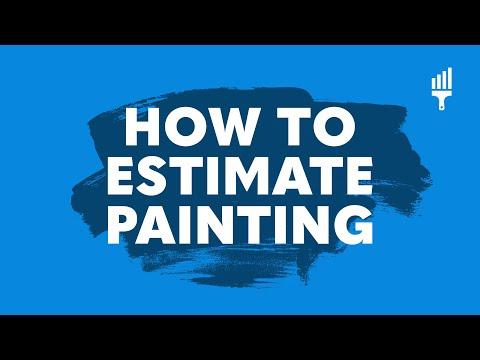 Paint Estimating Basics - Understanding the Fundamentals