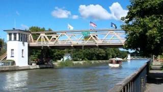 Lockport (NY) United States  city pictures gallery : Erie Canal Lift Bridge At Exchange Street, Lockport NY USA