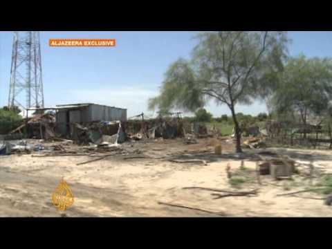 South - Al Jazeera has gained access to a South Sudanese town, where fighting and looting have forced most of the population to leave. Homes and a hospital have been...