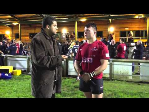 Interview: Geroge Edgson Hartpury v Filton (видео)