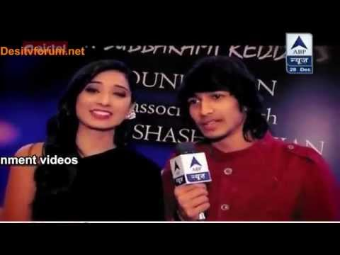 Video Vrushika And Shantanu At Yash Chopra Memorial Award By SBS - 27th December 2014 download in MP3, 3GP, MP4, WEBM, AVI, FLV January 2017